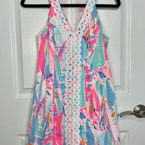 Lilly Pulitzer Lynn Shift Dress (Out to Sea)